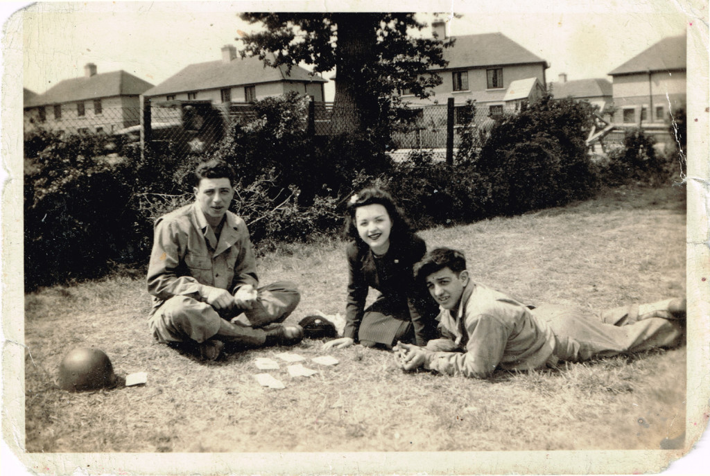 1945 Tom-Segreto, Noreen-Bayliss, Richard Terzian playing cards in England