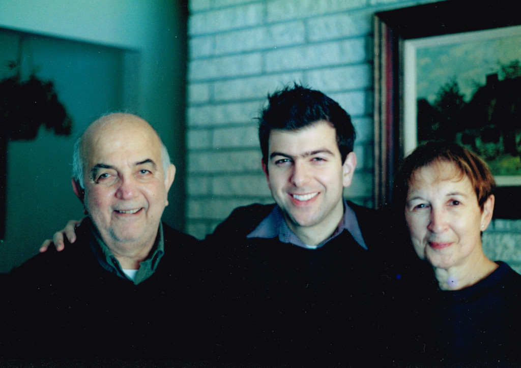 2006 Richard, Peter, and Barbara Terzian in Latham