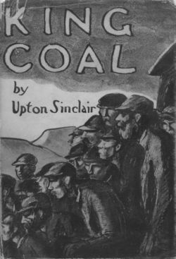 Boardman Robinson, book jacket for Upton Sinclair's King Coal (1917, rpt. 1921)