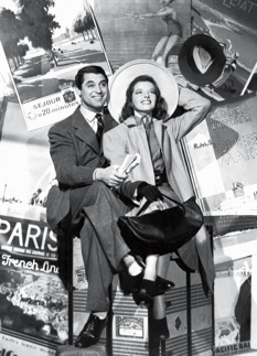 Cary Grant and Katharine Hepburn, Holiday (1938)