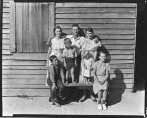 Walker Evans, The Burroughs Family, Hale County, Alabama, Metropolitan Museum of Art