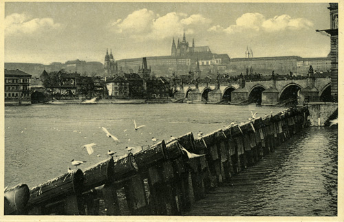 The Vltava and the Charles Bridge