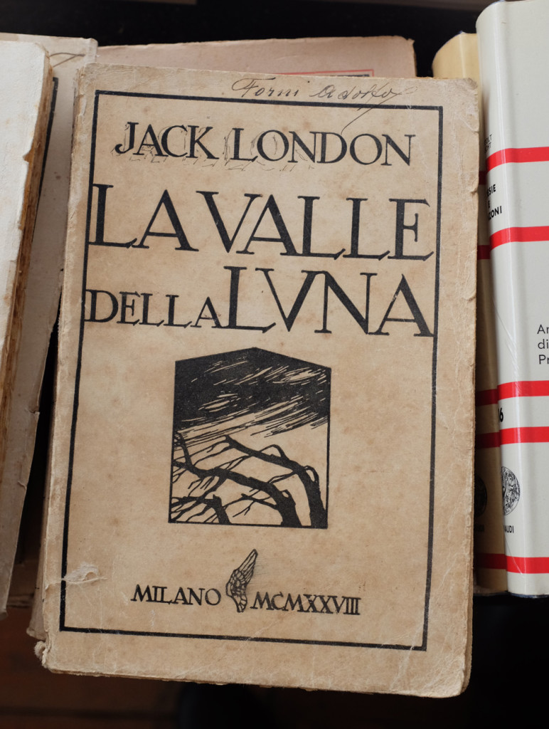 Jack London, The Valley of the Moon, in Italian, at Pordenone book fair