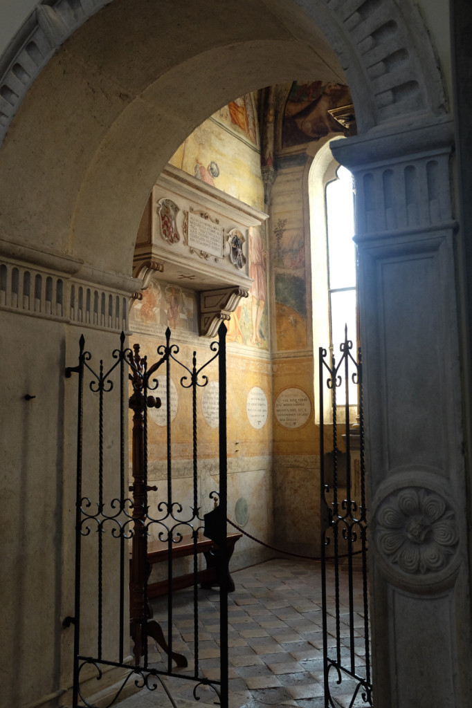 The sacristy, Pordenone cathedral