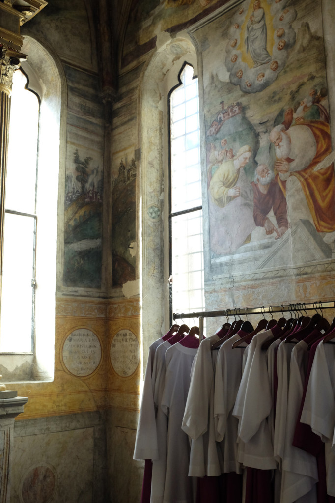 Sacristy, Pordenone cathedral