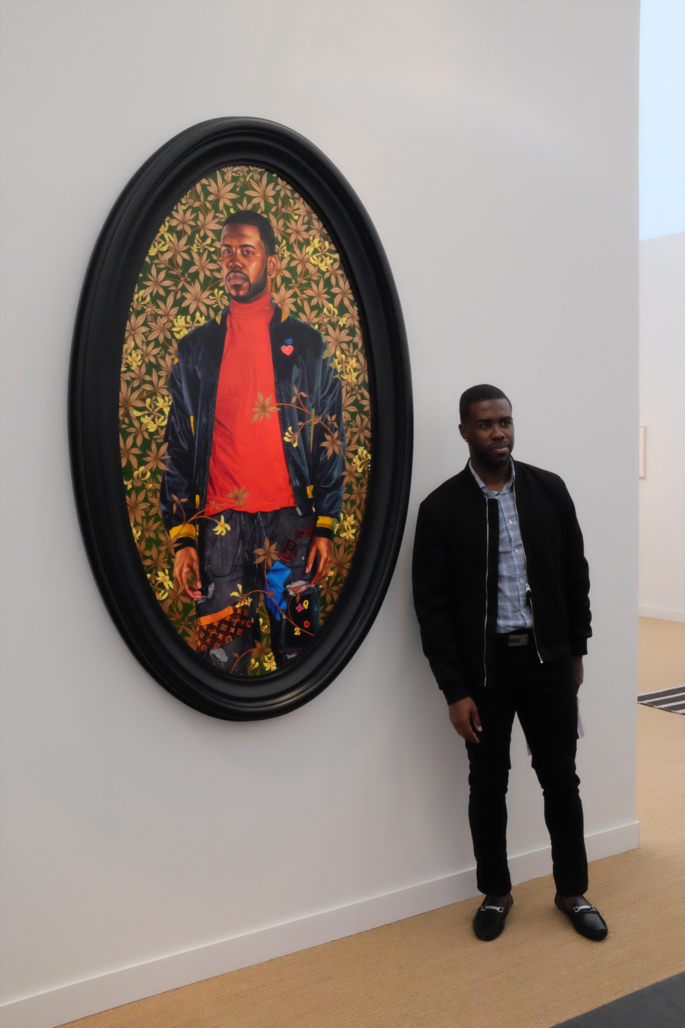 Kehinde Wiley, 'Alexander Cassatt,' 2017, Stephen Friedman gallery