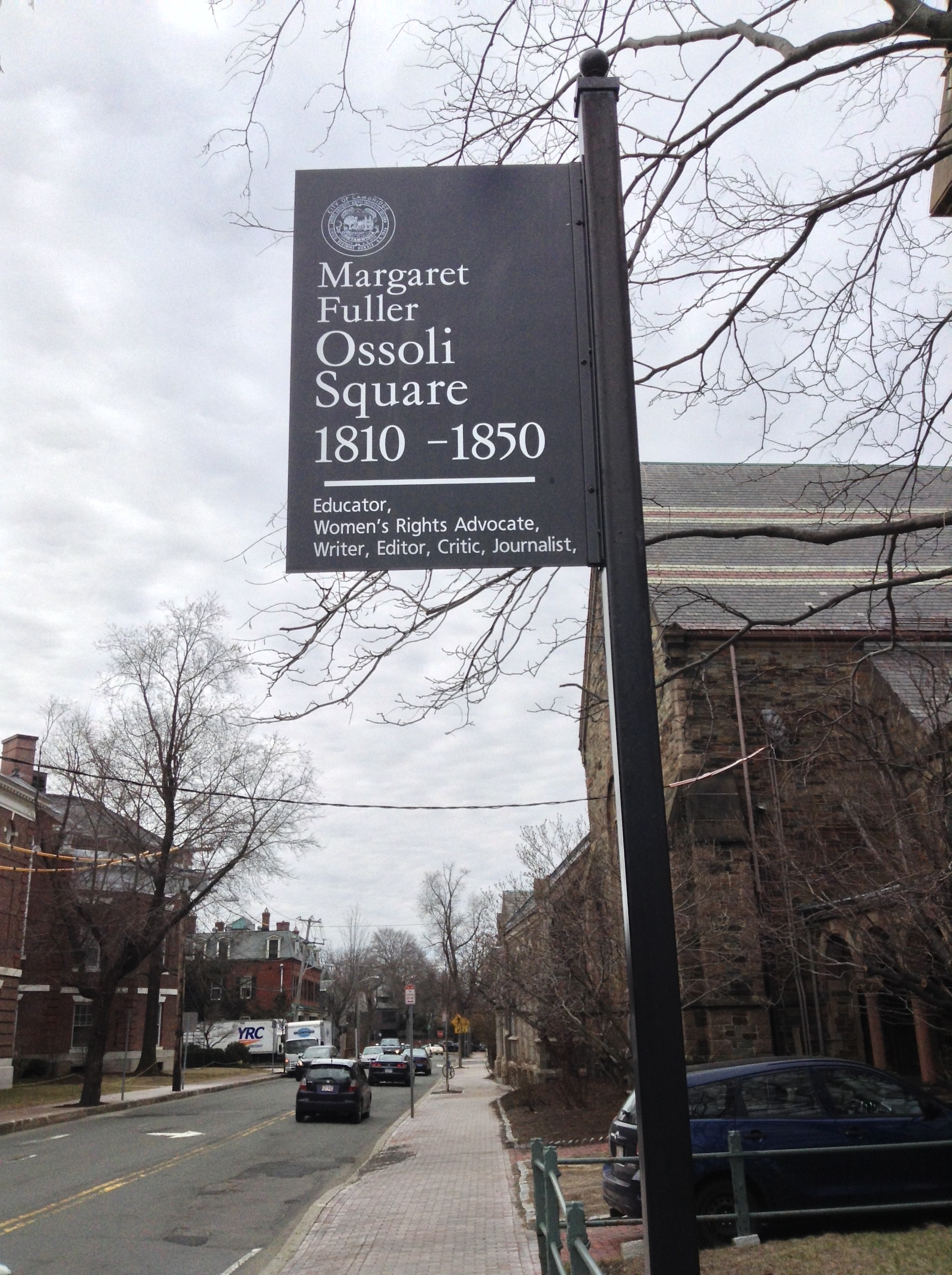 Margaret Fuller Ossoli Square, Cambridge