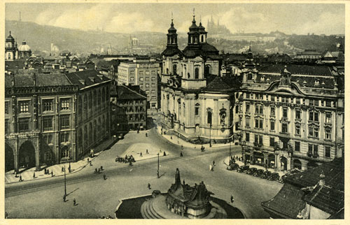 A postcard of Jan Hus, 1930s