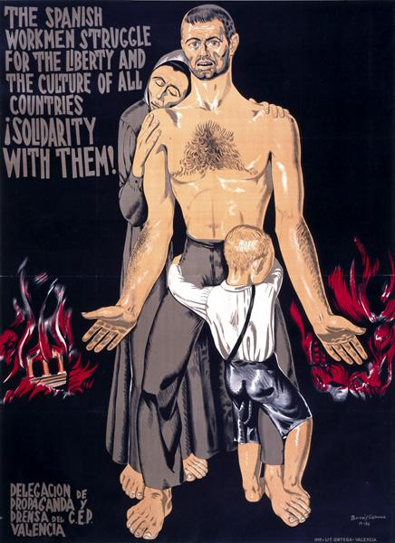 Poster from the Imperial War Museum's Spanish Civil War Poster Collection