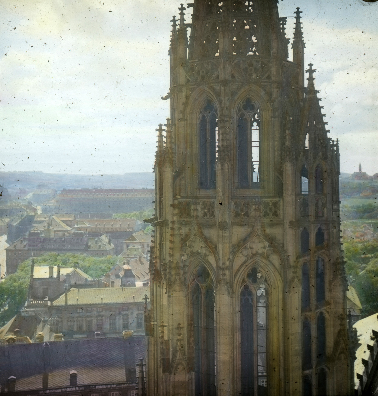 View from St. Vitus Cathedral, toward the west