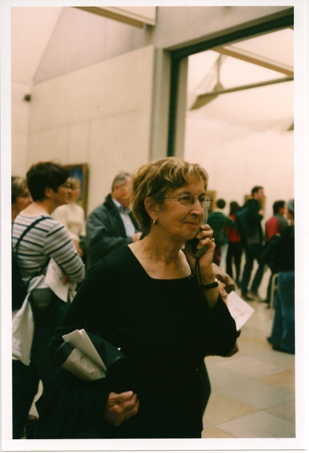 Mrs. Terzian in the Musée d'Orsay