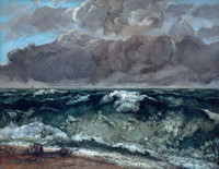 Courbet, The Wave