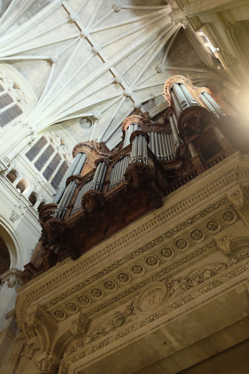 Grand organ, Church of Saint Eustache, Paris, 1 December 2013