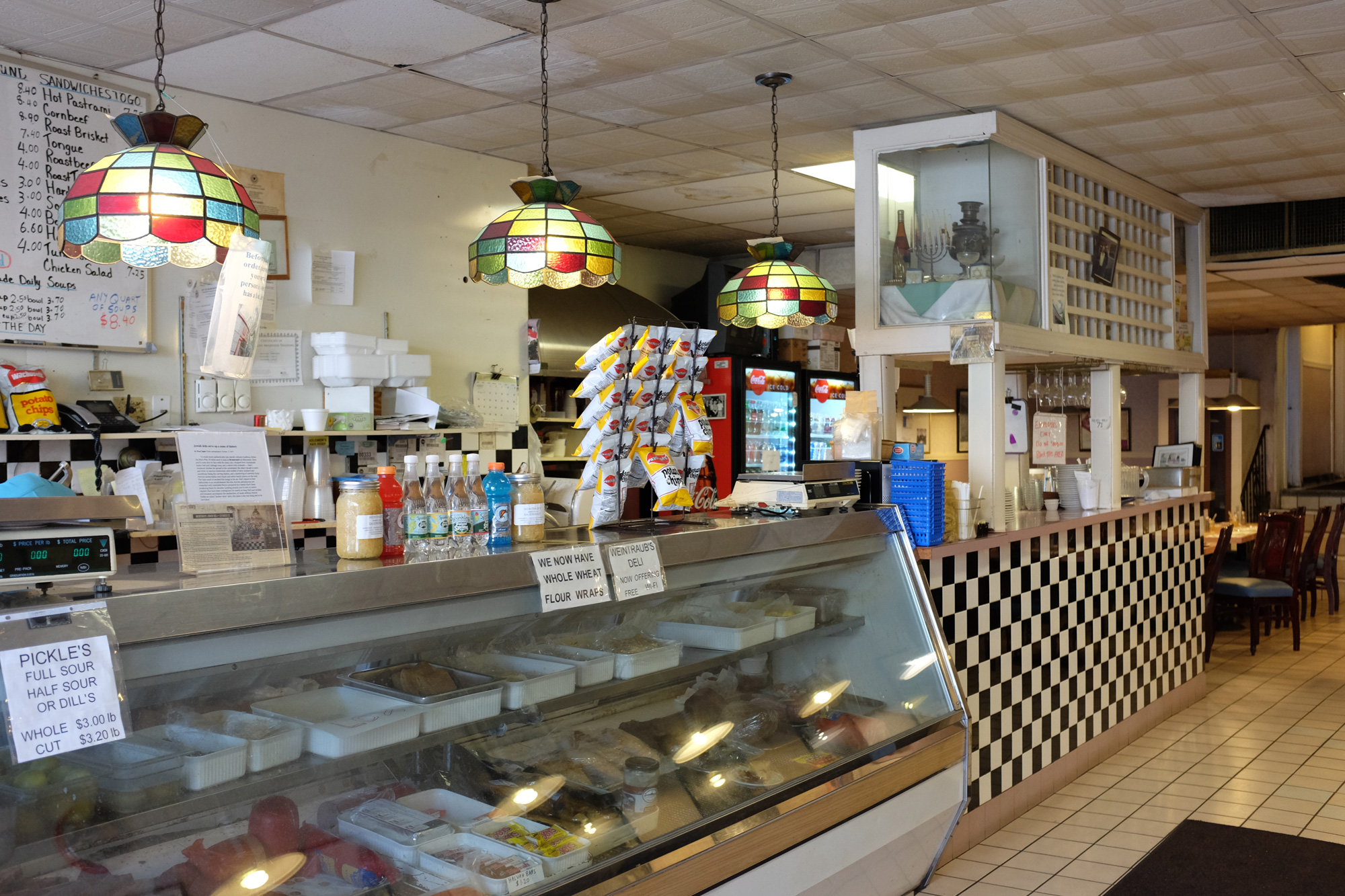 Weintraub's Delicatessen (counter), Worcester, Mass.