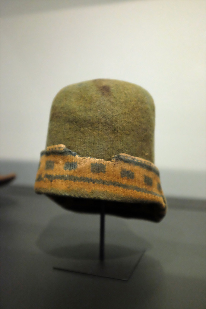 Dutch whaler's cap, 17th c, Rijksmuseum