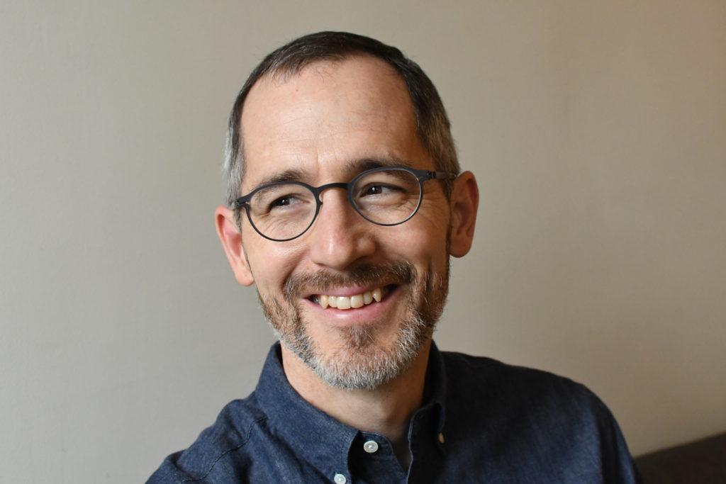 author photo of Caleb Crain, 29 January 2019, photo credit Peter Terzian
