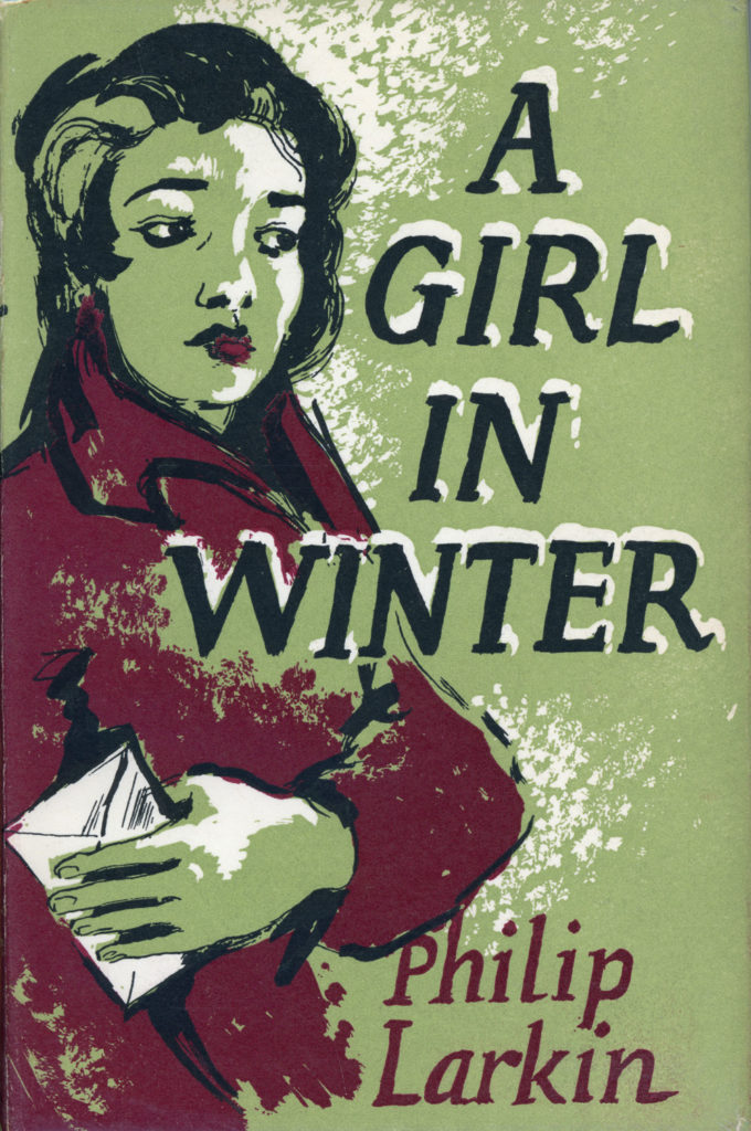 Margaret Wolpe, dust jacket for Philip Larkin's A Girl in Winter, 1956