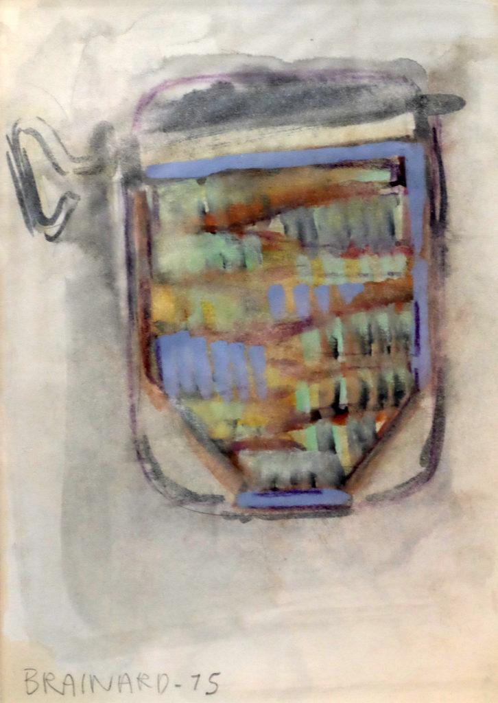 Joe Brainard, Sardines, 1975, Tibor de Nagy gallery